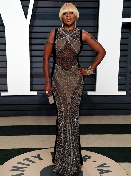 Mary J. Blige at the Vanity Fair Oscars Party 2017