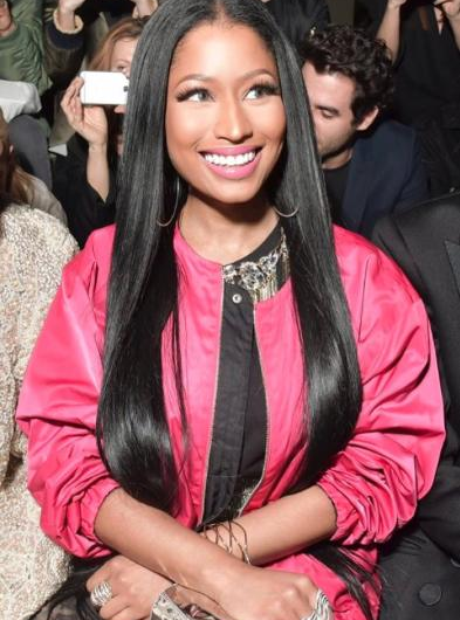 Nicki Minaj at the H&M Fashion Show 2017