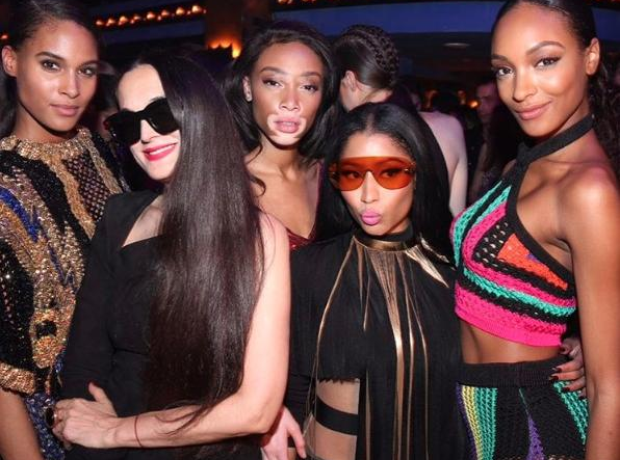 Nicki Minaj, Jourdan Dunn, Winnie Harlow and more