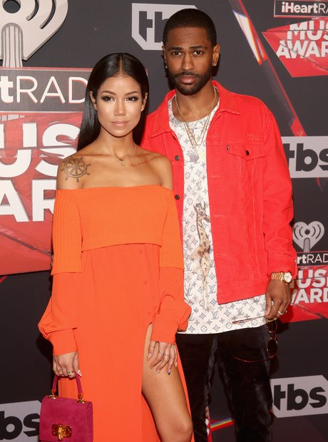 Big Sean and Jhené Aiko