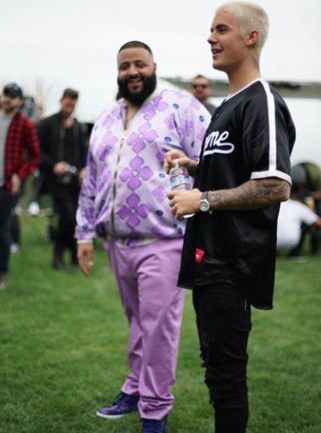 DJ Khaled and Justin Bieber
