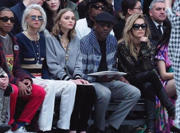 Skepta at Chanel show 2017