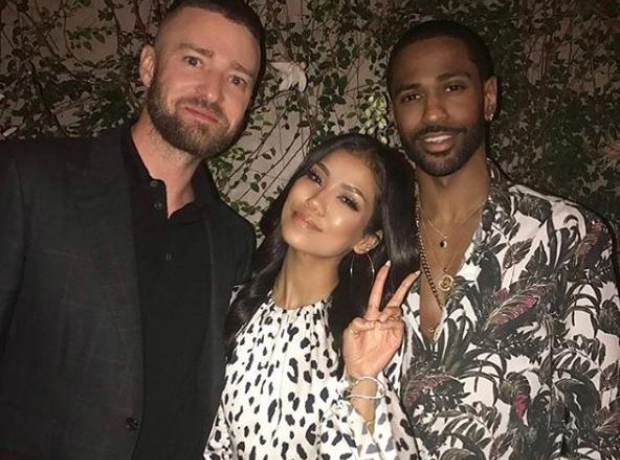 Justin Timberlake, Jhene Aiko and Big Sean
