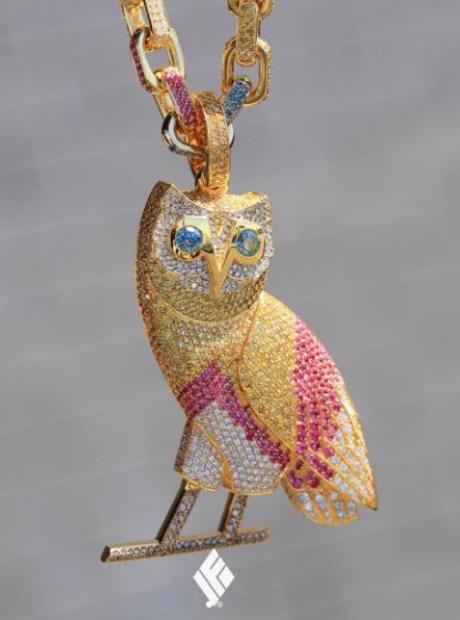 Drake Owl Chain
