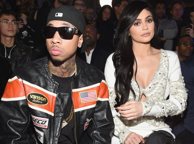 When did kylie start dating tyga