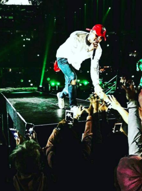 Chris Brown Tour Instagram