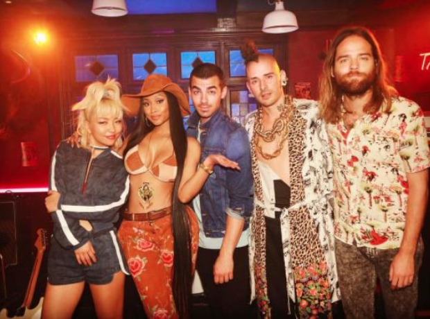 Nicki Minaj and DNCE