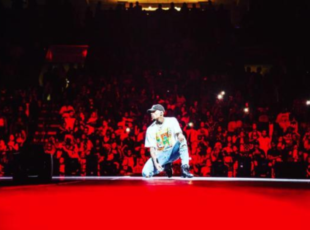 Chris Brown Party Tour Instagram