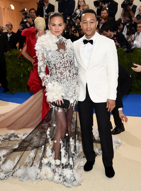 Chrissy Teigan and John Legend at the Met Ball