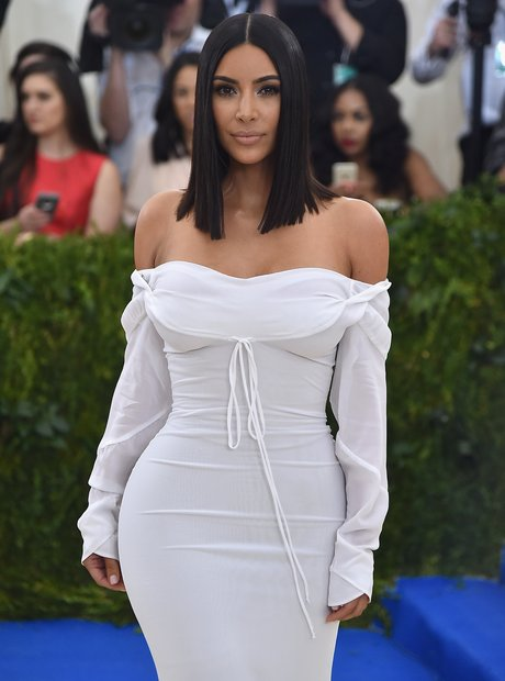 Kim Kardashian at the Met Gala 2017