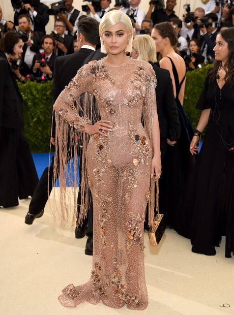 Kylie Jenner at the Met Gala 2017