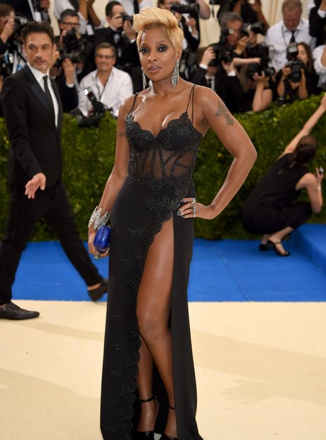 Mary J. Blige at the Met Ball 2017