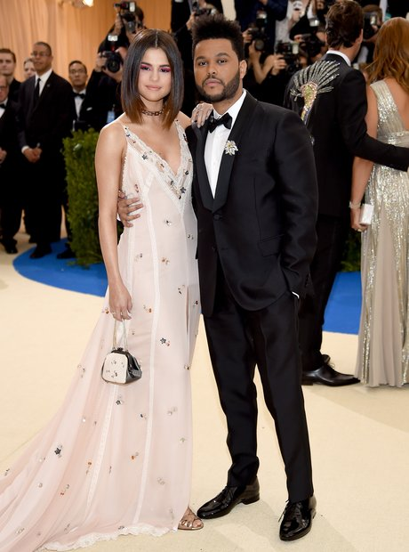 The Weeknd and Selena Gomez at the Met Gala 2017
