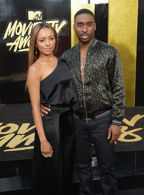Kat Graham and Demetrius Shipp Jr.