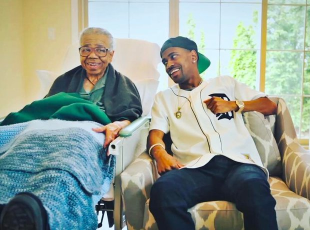 Big Sean Mothers Day Grandmother Instagram