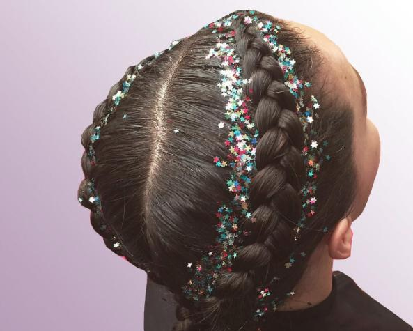 Glitter Roots Braid Bar Instagram