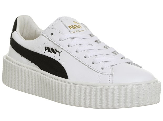 Puma x Fenty Black And White Creeper