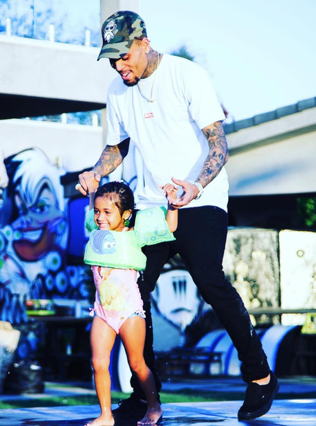 Chris Brown Royalty Birthday