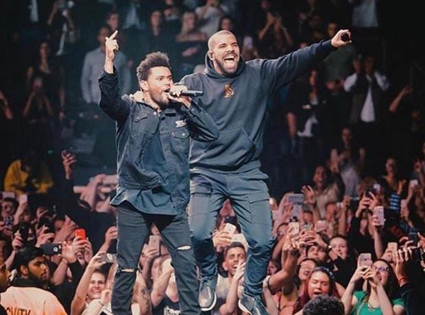 Drake The Weeknd Toronto Show