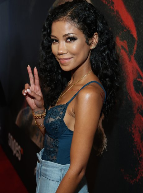 While Jhene Aiko also showed her support for the troubled ...