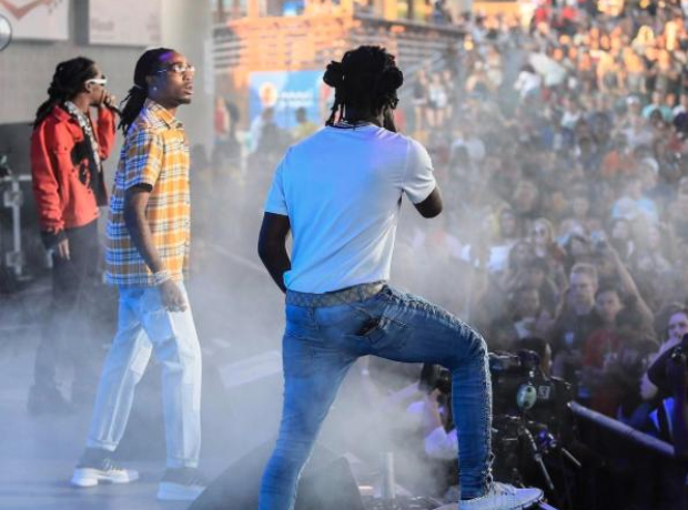 Migos on Future's Nobody Safe Tour