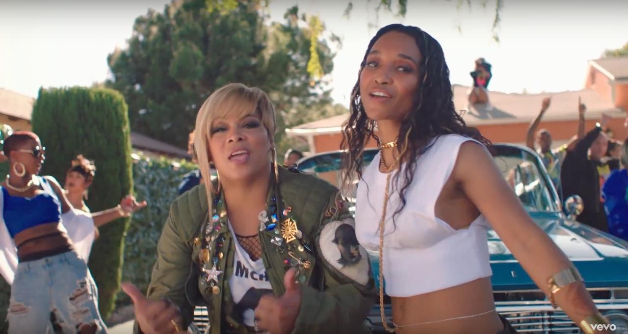 TLC 'Way Back' music video