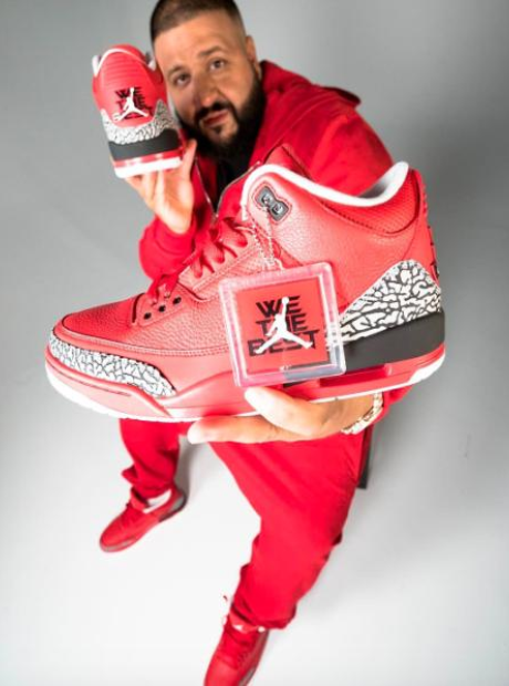 "DJ Khaled debuts ""Grateful"" Air Jordan 3 collab"