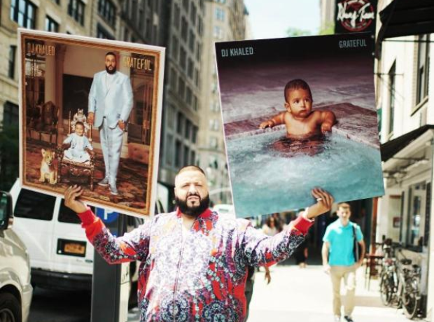 DJ Khaled 'Grateful' double album cover