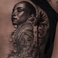 Image 5: Drake new Sade tattoo
