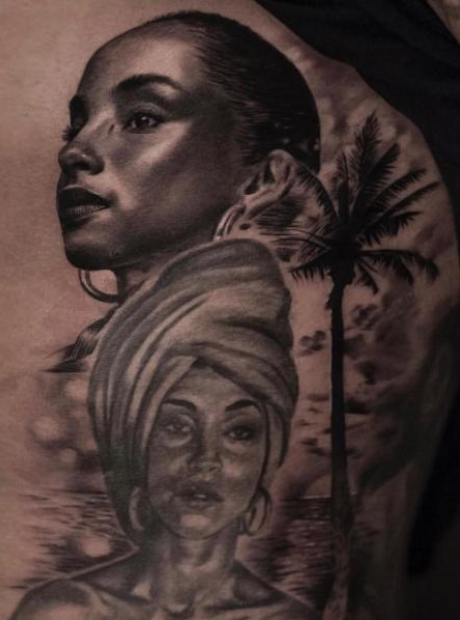 Drake new Sade tattoo