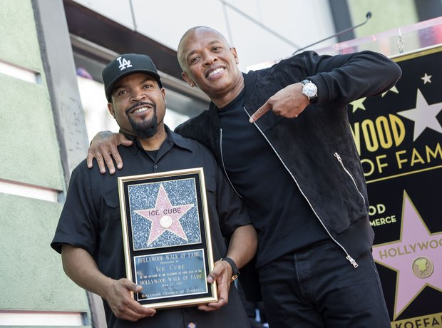 Ice Cube Hollywood Walk Of Fame Dr Dre