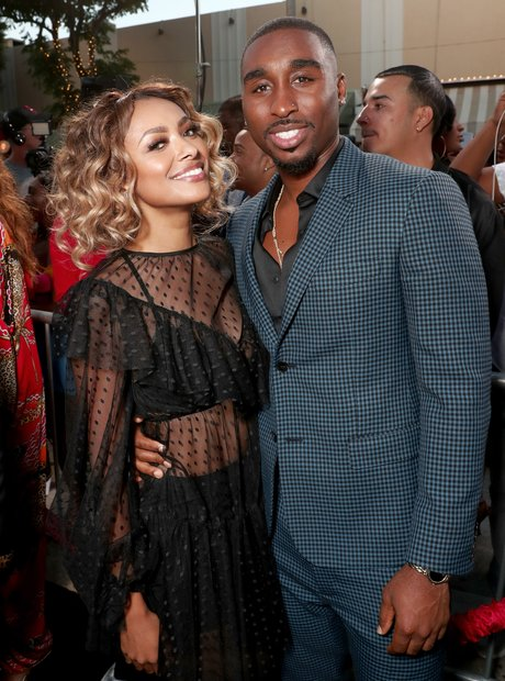 Kat Graham and Demetrius Shipp Jr