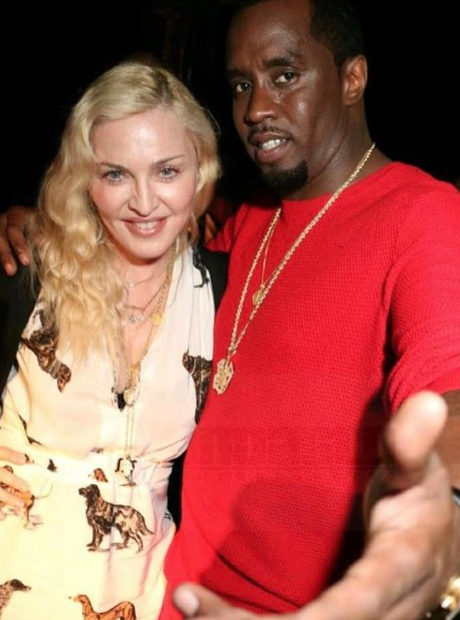 Diddy Movie Premiere Madonna