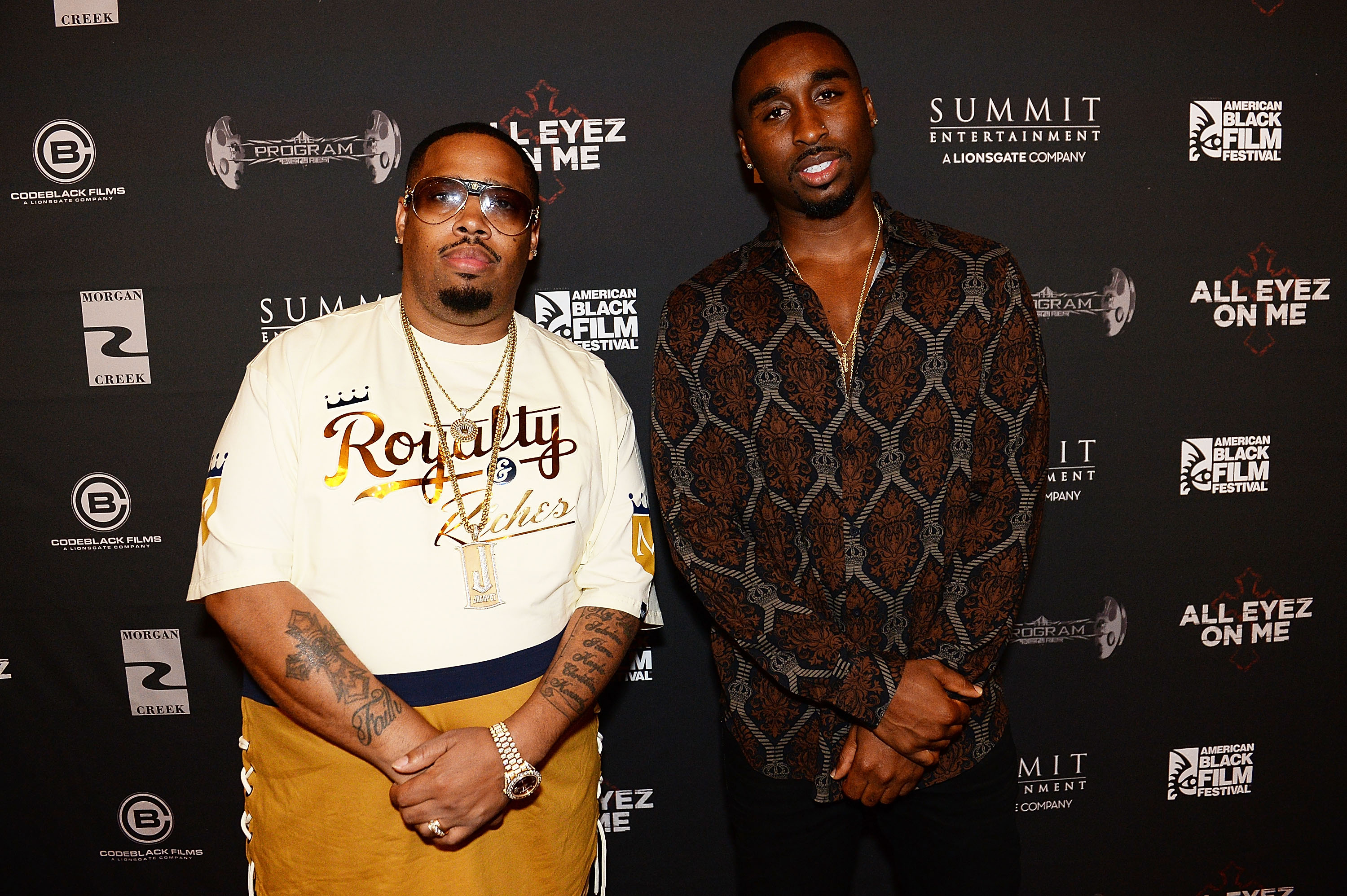 L.T. Hutton and Demetrius Shipp Jr.