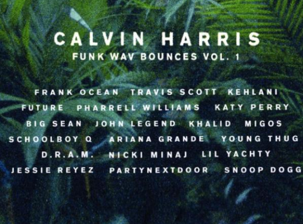 Calvin Harris album features list