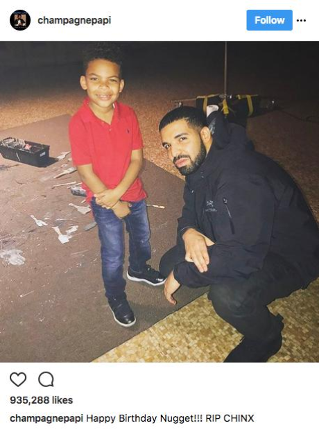 Drake, Chinx son