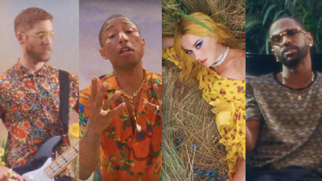 Calvin Harris, Pharrel William, Katy Perry, Big Sean