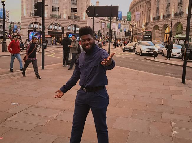 Khalid in London