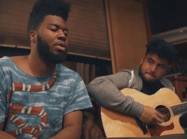Khalid recording