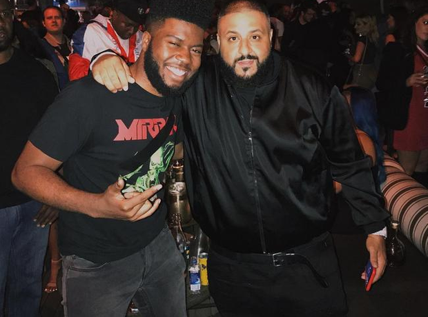 Khalid with DJ Khaled