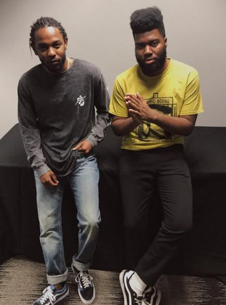 Khalid and Kendrick Lamar