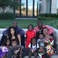 Image 4: Kim and Kanye with their family and 2 Chainz' fami