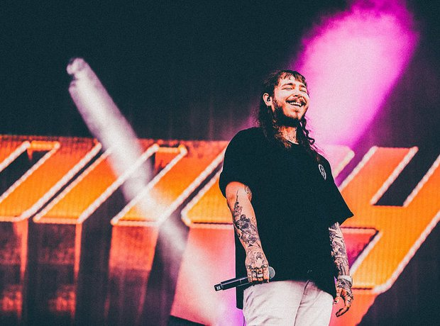 Post Malone Wireless Festival 2017