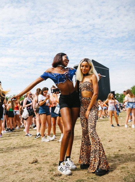 Wireless Festival 2017 street style