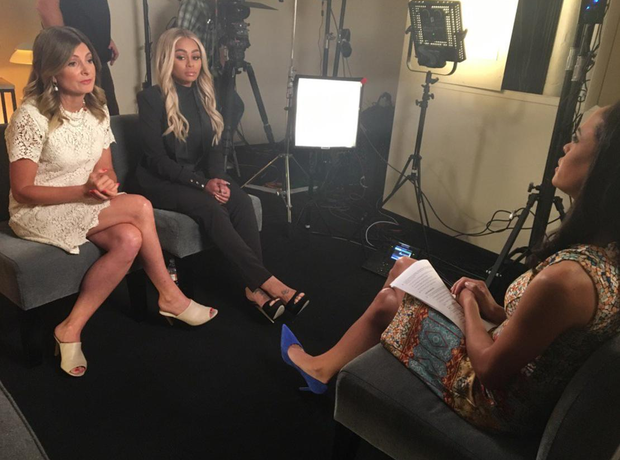 Blac Chyna ABC Interview Rob Kardashian