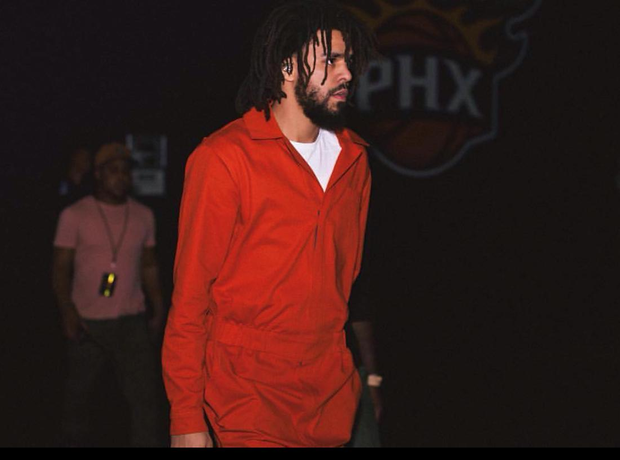 J. Cole Prison Jumpsuit Tour