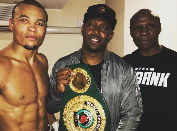 Dizzee Rascal Chris Eubank Jr