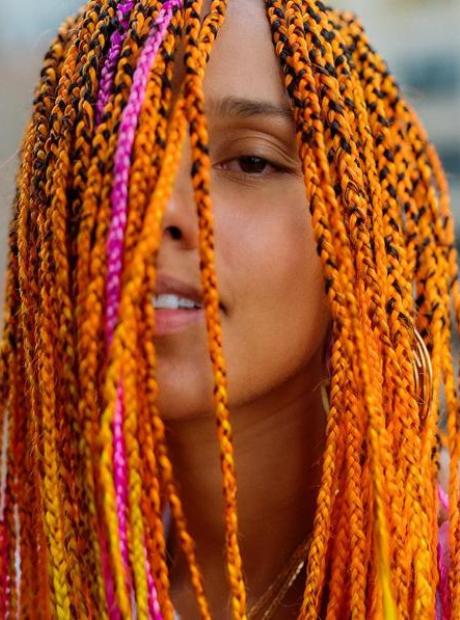 Alicia Keys' new hair