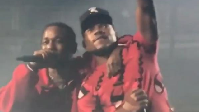 watch kendrick lamar bring out chance the rapper for no problem live in chicago capital xtra. Black Bedroom Furniture Sets. Home Design Ideas