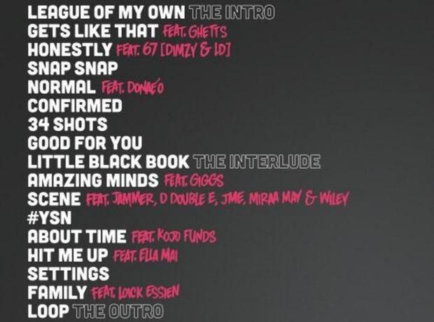 Chip Tracklist